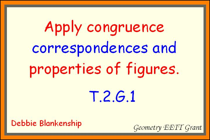 Apply Congruence and Similarity Correspondences and Properties of Figures