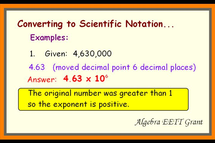 Go Back > Gallery For > Scientific Notation