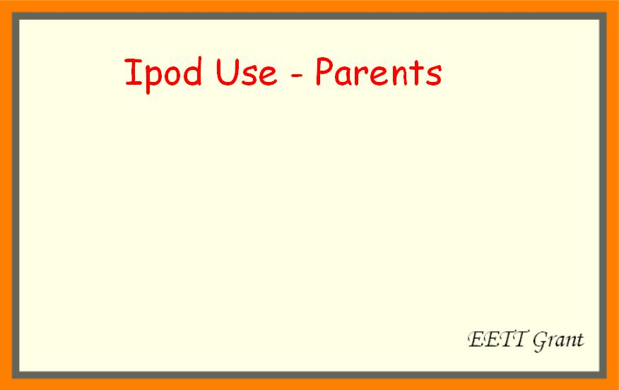 iPod Use and Benefits.